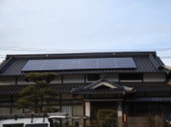 ・和瓦屋根(入母屋へ設置)